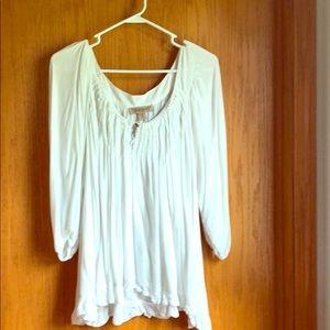 Tops - Boho white blouse